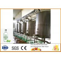 200T / Year Green Plum Wine Fermentation Equipment Production Line Food Grade Processing Manufactures