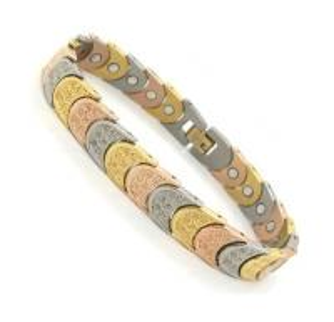 Golf magnetic Germanium Titanium Bracelet with fashion design for kids Manufactures