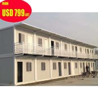 prefabricated 20ft mobile office european container house luxury Manufactures