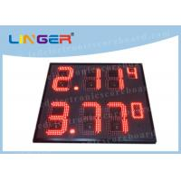 IP65 Frame Outdoor Led Signs Prices Wireless For Highway Service Station Manufactures