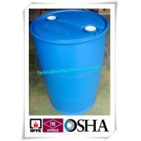 200L HDPE Chemical Plastic Drum Storage Cabinets , HDPE Plastic Drums Barrels For Chemical Packing Manufactures