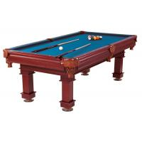 8 Feet Deluxe Pool Table Wool Blend Cloth Billiard Table Leather Pockets Manufactures