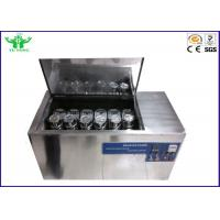 Ac 380v Colour Washing Fastness Tester  40 ± 2r / Min Rotation Speed Manufactures