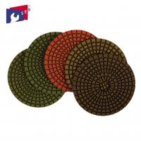 Marble Granite Diamond Polishing Pads Excellent Service Stable Performance Manufactures