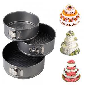 3pcs Nonstick Springform Pan Cheesecake Pan Leakproof Cake Pan Bakeware Loose Base Cake Baking Manufactures