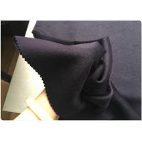 Men Suiting Lightweight Coating Wool Fabric Glossy Surface Dark Purple Manufactures
