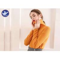 Buy cheap Turtleneck Ladies Wool Sweater Pointelle Design Fashion Winter Jumper from wholesalers