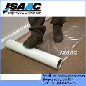 High Quality PE Plastic Film For Carpet / Floor / Glass Manufactures