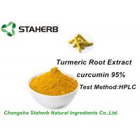 Colorant Natural Food Additives Turmeric Root Extract Curcumin 95% HPLC Manufactures