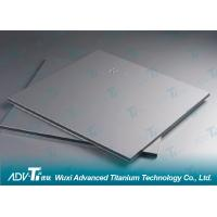 Quality Hot Rolled Titanium Sheet Metal GR1 Low Density For Heat Exchanger for sale