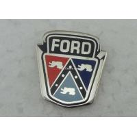 China Die Stamped Hard Enamel Pin Ford Badges , Custom Trading Pins on sale