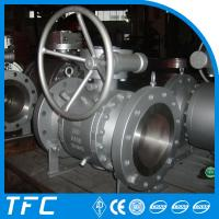 trunnion mounted 3pc forged steel ball valve Manufactures