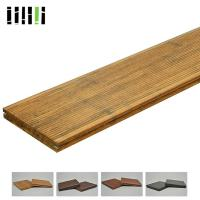 China Prefabricated Water Proof Solid Bamboo Flooring Fireproofing 18mm Thickness on sale
