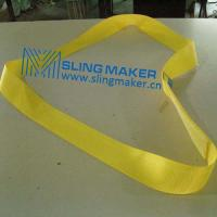 High quality endless Polyester webbing sling lifting belt synthetic lifting sling lifting band hebeband Manufactures