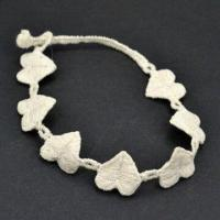 Heart Lace Promotional Friendship Bracelet, Made of Polyester, Available in Various Designs Manufactures