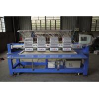 Large Format Embroidery Machine , Embroidery Printing Machine 12 Needle Manufactures