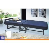 Nylon Home Hotel Portable Folding Bed With Mattress Wheels 24.5KGS Manufactures