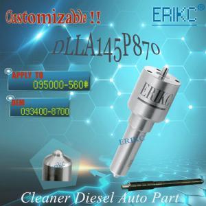 Mitsubishi nozzle DLLA145P870 Denso diesel fuel nozzle DLLA 145 P 870 injector nozzle 093400-8700 / DLLA 145P 870 Manufactures