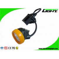 China 420g Mining Cap Lamp with Cable , Waterproof Explosion Proof Miner Hat Light with Low Power Warning Function on sale