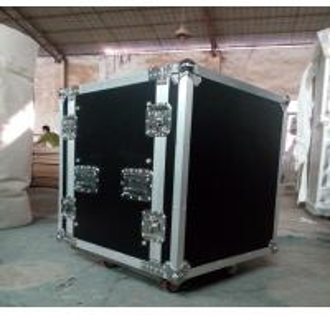 Print Logo Rack Case AluminumTool Cases With Anti-shock Foam Inside Manufactures