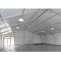Easy Up 100 Person Big Festival Tent With Wooden Floor , Large Party Tent Manufactures
