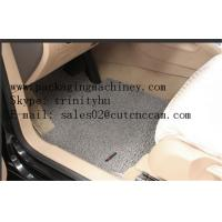 Rubber Floor mats CNC cutting plotter Manufactures