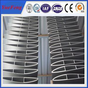 mill blade 6063 aluminum extruded profiles,OEM industrial aluminium alloy profile Manufactures