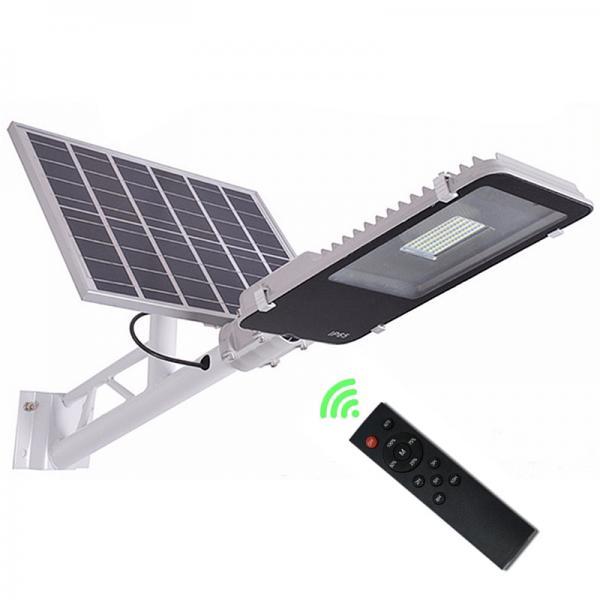Quality 30W Out Door Powered Solar Street Light Motion Sensor Light Solar Panel 6V 20W for sale