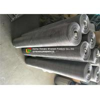 Food Drying Stainless Steel Wire Mesh Alkali Resistance Roll 0.15mm Wire Thickness Manufactures