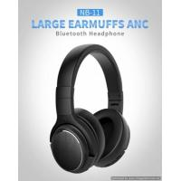 Super comfort ANC Bluetooth headphonet with true protein leather earpads Manufactures