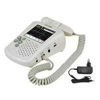China Color Touch LCD Display Doppler Fetal Heart Monitor With Earphone / Speaker on sale