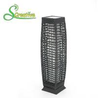 Pathway Decorative Rattan Solar Garden Lights LED Solar Panel Outside Waterproof Manufactures