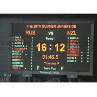 Customized HD P 6 Stadium LED Display Video Display Synchronous Control Sports Manufactures