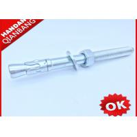 Carbon Steel M12 Wedge Type Anchor Bolts With Washer And Nut Free Samples Manufactures
