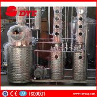 Red Copper Still Kits Copper Distillery Equipment 1-3 Layers SUS304 Manufactures
