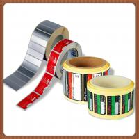 Waterproof Printable Adhesive Labels , Color Printed PVC Plastic Sticker Sheet Manufactures