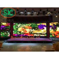 Stage background / display full color rental LED display small pitch indoor p2.5 1R1G1B SMD 3 in 1 Manufactures