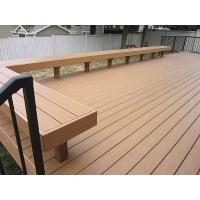 Weather Resistance Composite Wood Park Bench With Wood Plastic Composite Material Manufactures