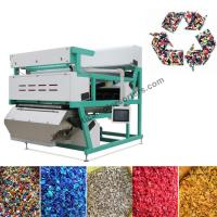 China Engineering Plastic Color Sorter For Plastic Raw Materials Optimizing on sale
