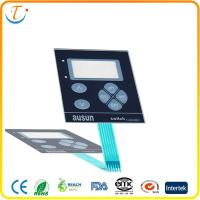 China Embossed PC / PET 3M Membrane Switch Keypad For CNC Machine on sale