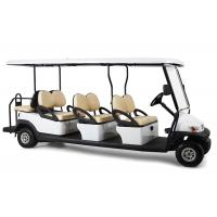 Rear Drum Brake 6 Passenger Electric Golf Cart With Foldable Windshield Manufactures