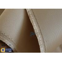 High Temp Silica Fabric Brown 35OZ 92CM 800℃ Durable Electrical Insulation Manufactures