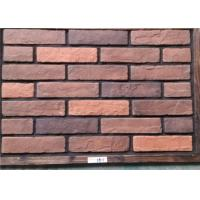 Thin Decorative Faux Wall Brick , Ceramic Faux Brick Panels Outdoor Manufactures