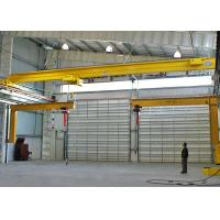 EOT Single Girder Electric Overhead Crane Traveling System 3 Ton Customized Color Manufactures