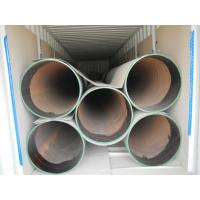 S355 Spiral Welded Steel Pipes with special coating Manufactures