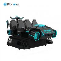 3.8KW 9D Virtual Reality Simulator , Six Seats VR Dark Mars Simulator With Various Special Effects Manufactures
