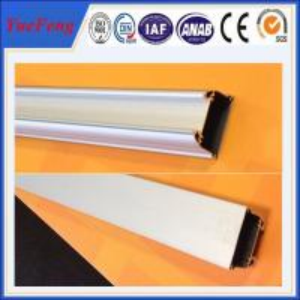 6000 series aluminium extrusion alloy profile,color coated aluminium wardrobe door Profile Manufactures