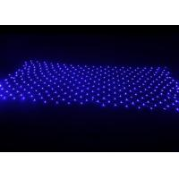 Outdoor LED Curtain Lights Net 1.5mm Clear Copper Wire 4x6m 220v / 110v Manufactures