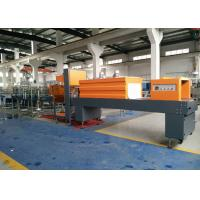Full Automatic PE Film Shrink Packaging Equipment For Beverage Drinking Water Bottles Manufactures