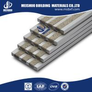 China Aluminum anti-skid stair nose step ceramic tile non slip on sale
